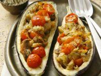 Gefüllte Auberginen auf türkische Art Rezept