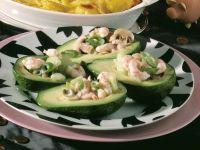 Gefüllte Avocados mit Krabben Rezept