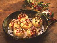 Gefüllte Bratäpfel mit Vanillesauce Rezept
