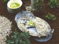 Gefüllte Dorade in Salzkruste mit Vinaigrette Rezept