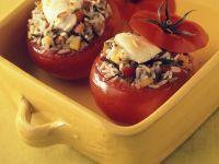 Gefüllte, gebackene Tomaten Rezept