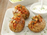Gefüllte Kartoffeln aus dem Ofen Rezept