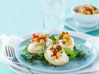 Gefüllte Kartoffeln mit Gemüse Rezept
