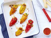Gefüllte Mini-Paprikas mit Le Gruyère AOP Réserve