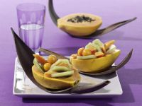 Gefüllte Papaya Rezept