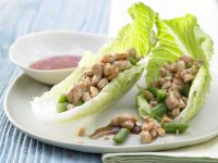 Gefüllte Salatblätter Rezept