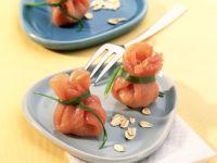 Gefüllte Schinken-Säckchen mit Austernpilzen Rezept