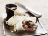 Gefüllte Tintenfische auf philippinische Art Rezept