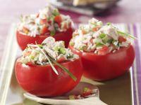 Gefüllte Tomaten mit Thunfisch Rezept