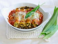 Gefüllte, überbackene Cannelloni Rezept