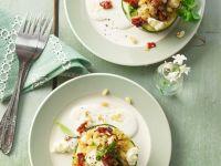 Gefüllte Zucchini mit Weizen und Feta Rezept