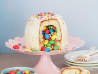 Gefüllter Kuchen mit Schokolinsen Rezept