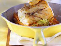 Gefüllter Seehecht mit Gemüse Rezept