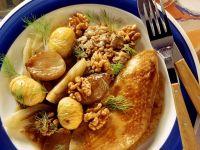 Gefüllter Truthahnbraten mit Nüssen Rezept