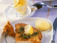 Gefülltes Hähnchenschnitzel mit Spinat und Gorgonzola Rezept