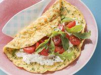 Gefülltes Omelett Rezept