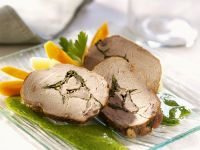 Gefülltes Schweinefilet Rezept