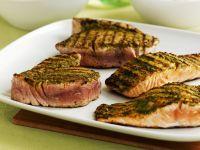 Gegrillte Fischsteaks Rezept