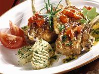 Gegrillte Lammchops mit Kräuterbutter Rezept