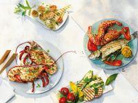 Gegrillte Meeresfrüchte Rezept