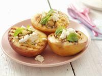 gegrillte Pfirsiche mit Baiser Rezept