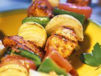 Gegrillte Schwertfisch-Spieße Rezept