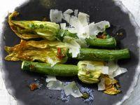 Gegrillte Zucchiniblüten Rezept