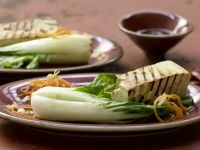 Gegrillter marinierter Tofu