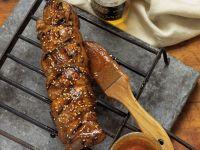 Gegrilltes Filet mit Chili-Sesam-Glasur Rezept