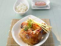Gegrilltes Hähnchen auf thailändische Art mit Zitronengras Rezept