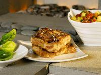 Gegrilltes Schweinefleisch mit Salsa Rezept