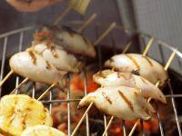 Gegrilltes Tintenfischspieße Rezept