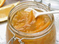 Gelbe Marmelade (Orange, Aprikose, Mandel) Rezept