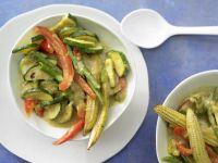 Gelbes Gemüse-Curry Rezept