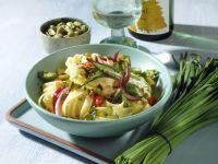 Gemüse-Bandnudeln mit Kurkuma-Pistazien-Butter Rezept