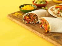 Gemüse-Burritos Rezept