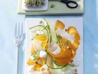 Gemüse-Carpaccio Rezept