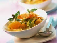 Gemüse-Clementinen-Curry mit Minze Rezept