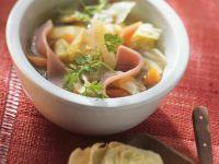 Gemüse-Eintopf mit Kassler Rezept