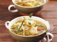 Gemüse-Fisch-Suppe Rezept