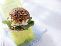 Gemüse-Frischkäsesandwich Rezept
