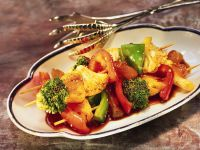Gemüse-Fruchtspieße vom Grill Rezept