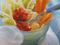 Gemüse in Cremesauce Rezept