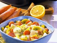 Gemüse in cremiger Buttersoße Rezept