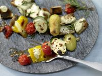 Gemüse-Kebabs Rezept
