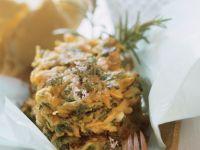 Gemüse-Kräuterpuffer Rezept