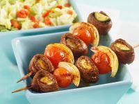 Gemüse-Lammfleisch-Spieße Rezept