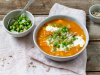 Gemüse-Linsen-Eintopf mit Erbsen Rezept