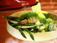Gemüse mit Garnelen dämpfen Rezept