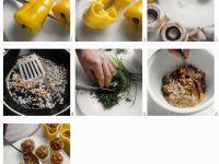 Gemüse mit Hackfleisch-Kräuterfüllung Rezept